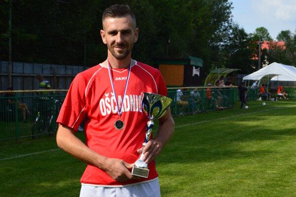 Jaroslav Kučák v drese TJ Tatran Oščadnica.