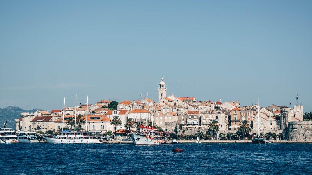 Staré mesto Korčula, Chorvátsko
