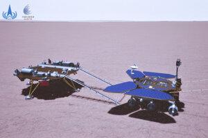 Prvý čínsky rover na Marse pristál v sobotu