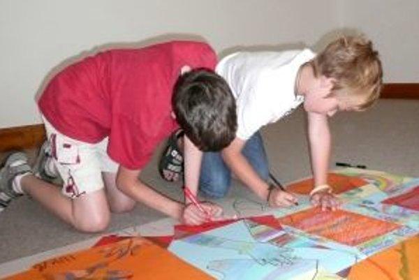 Prázdninové maľovanie je tradičnou akciou Nitrianskej galérie už zhruba 20 rokov.