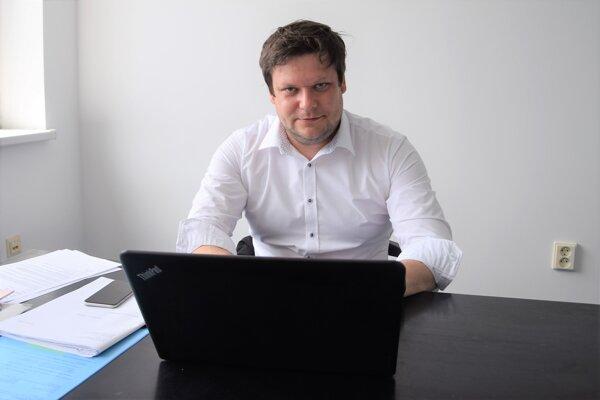 Ján Slamka, riaditeľ Dopravného podniku mesta Martin.