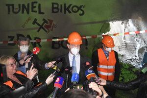 Prerazenie tunela Bikoš v Prešove 27. mája 2021.