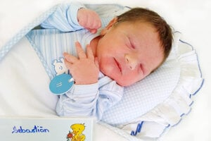 Sebastián Baláž z Kanianky sa narodil 27. 5. 2021 v Bojniciach