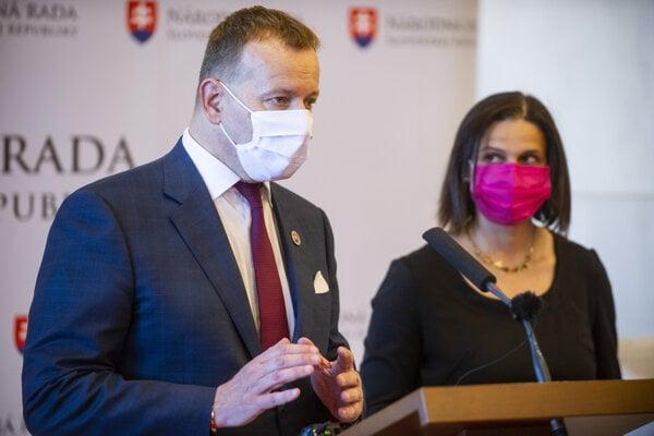 Boris Kollár a Mária Kolíková.