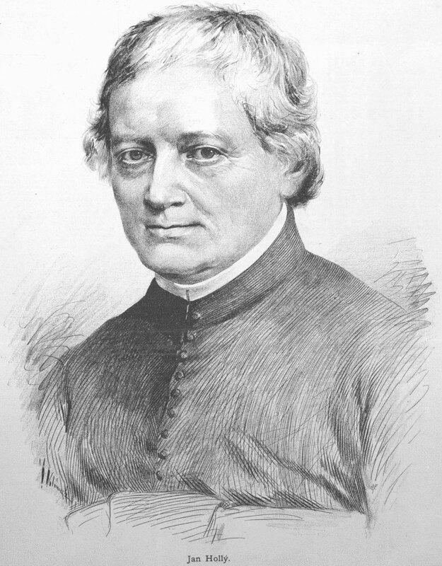 Básnik Ján Hollý.