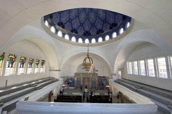 Synagóga v Trenčíne je pred obnovou za milión eur.
