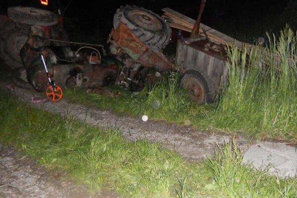 Tragická nehoda vo Vyhniach.