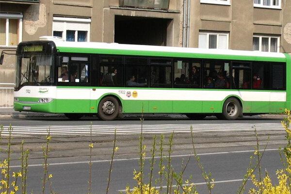 Staré autobusy Solaris Urbino 12 už v Košiciach postupne dosluhujú.