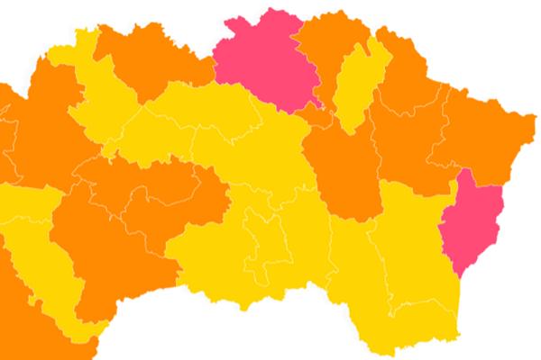 Východné Slovensko od pondelka 7. júna.