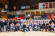 Popradskí hokejisti ukončili sezónu so striebrom.