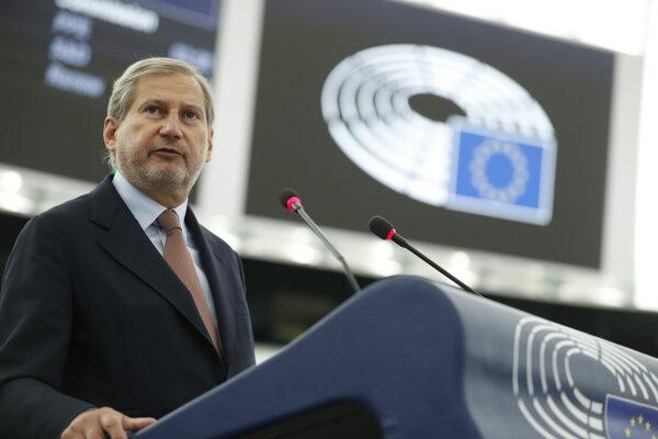 Eurokomisár pre rozpočet Johannes Hahn.
