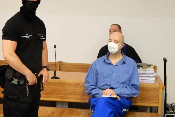 Pavol Rusko na pojednávaní v kauze prípravy vraždy Volzovej.