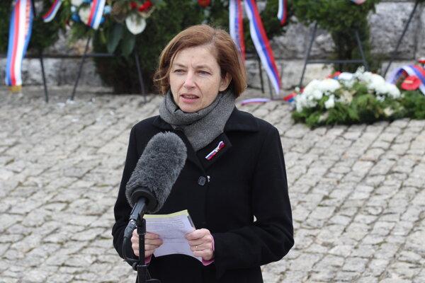 Florence Parly, ministerka obrany