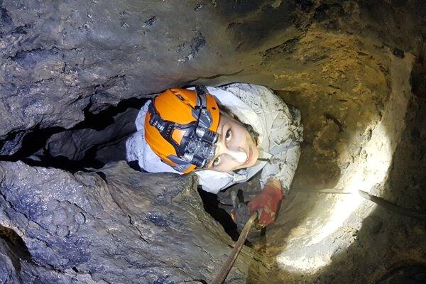 Ženy sú súčasťou viacerých jaskyniarskych skupín.