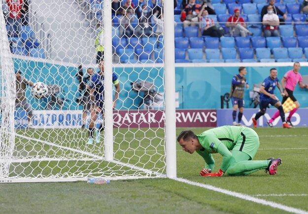 Víťazný gól Milana Škriniara.