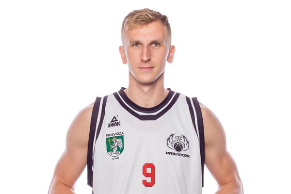 Martin Bílik v drese Prievidze.