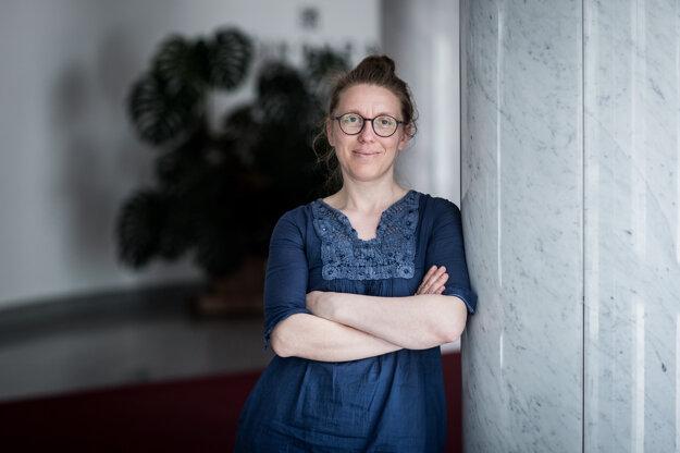 Riaditeľka Činohry SND Miriam Kičiňová.
