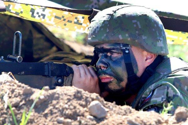 FOTO: Na Lešti prebieha najvýznamnejšie vojenské  cvičenie tohto roka