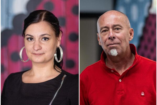 Mária Vargová a Andrej Poracký