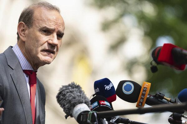 Vysokopostavený diplomat EÚ Enrique Mora.