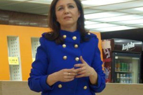 Mária Miková v Slovenke pracuje desať rokov.