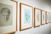 Výstava Karola Felixa v Reprezentačných sálach Nitrianskej galérie.