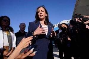 Harrisová navštívila americko-mexické pohraničie