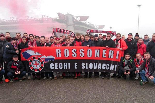 Členovia fanklubu sa stretávajú hlavne na stretnutiach AC Miláno.
