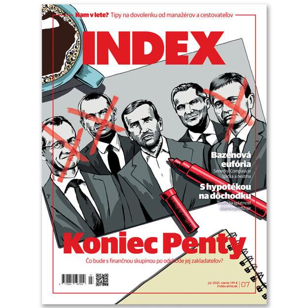 Článok nájdete aj v júlovom vydaní mesačníka INDEX.