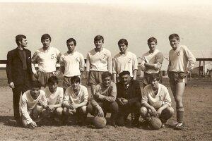 Futbaloví dorastenci vroku 1969.