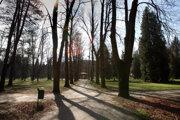 Mestský park v Banskej Bystrici. Ilustračné foto.