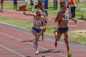 Titul majsterky Slovenska v behu na 1500 m si vybojovala bežkyňa Annamária Horváthová.