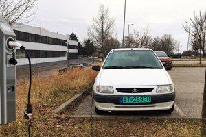 Citroën Saxo Electrique sa dnes len tak nevidí, hlavne nie na Slovensku.