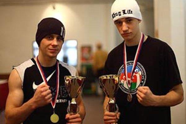 Pražskí víťazi - (zľava) Zátorský a Rajcsányi.
