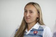 Atlétka Gabriela Gajanová z Bobrovca.