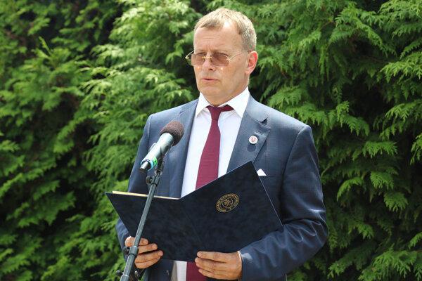 Predseda Národnej rady Boris Kollár počas príhovoru