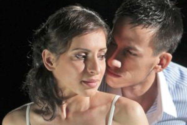 Katarína Košíková a Peter Dedinský ako Rómeo a Júlia.