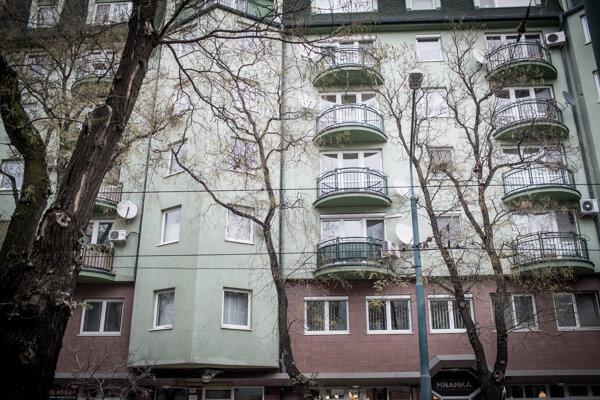 Byt na Vazovovej ulici v Bratislave.