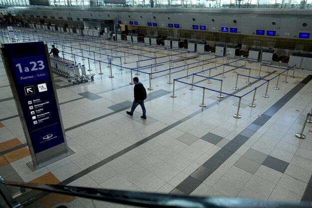 Letisko v Buenos Aires.