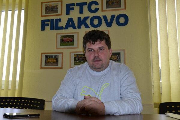Attila Visnyail - prezident FTC Fiľakovo