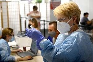 Očkovanie proti koronavírusu.