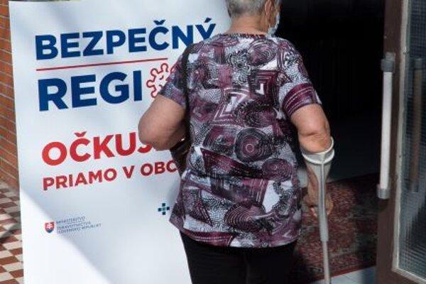 V Prašiciach zaočkovali 65 záujemcov.