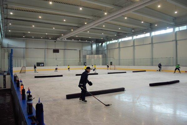 Martin má konečne druhú hokejovú halu.