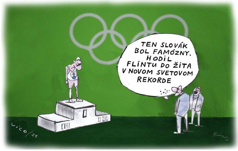Slováci na olympiáde (Vico) 30. júla