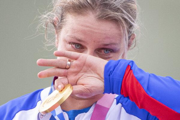 Zuzana Rehák Štefečeková získala pre Slovensku prvú medailu na OH v Tokiu.
