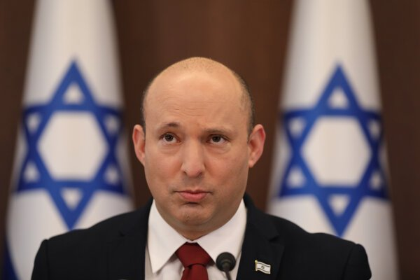 Izraelský premiér Naftali Bennett.
