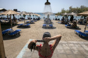 Grécko trápia horúčavy.