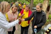 Ochutnať z kvalitných medov mohli v Povine aj návštevníci.