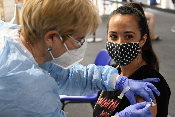 Očkovanie proti Covid-19.
