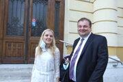 Adéla Sládeková z okresného úradu a Jaroslav Maček z krajskej prokuratúry sú s rozsudkom spokojní.